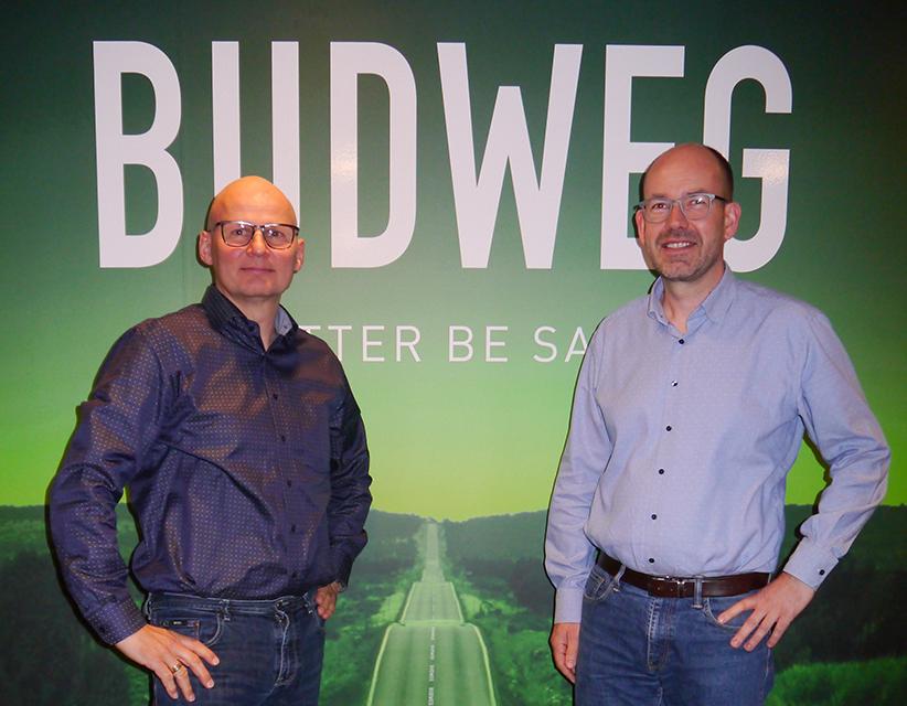 From the Left: Thomas E. Larsen and Christer Mysling